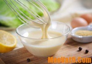 Bí quyết làm đẹp với nước sốt mayonnaise