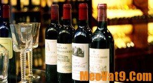 Mẹo phân biệt rượu Vang thật giả khi sắm Tết