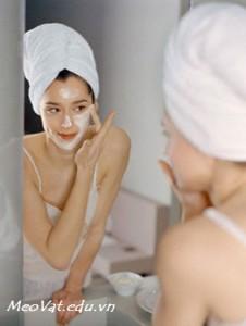 Mẹo vặt chăm sóc da mặt đúng cách