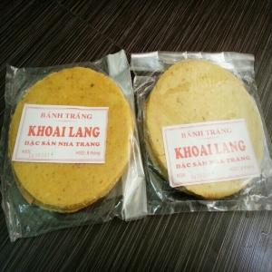 Bánh Tráng Khoai Lang