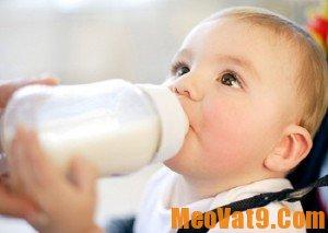 Mẹo cho trẻ uống sữa đúng cách và hiệu quả nhất