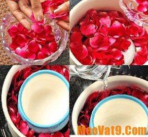 Mẹo tự làm nước hoa hồng tại nhà an toàn và tiết kiệm